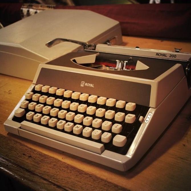 Algunas ventajas de la máquina de escribir
