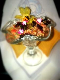 Ceviche de Atún rojo salvaje de almadraba
