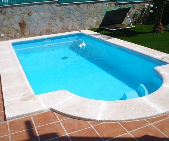 piscinas de poliester Luis iPino