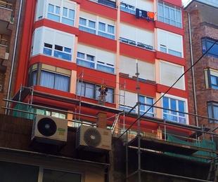 Fachadas exteriores, patios, traseras, principal, medianeras reparación