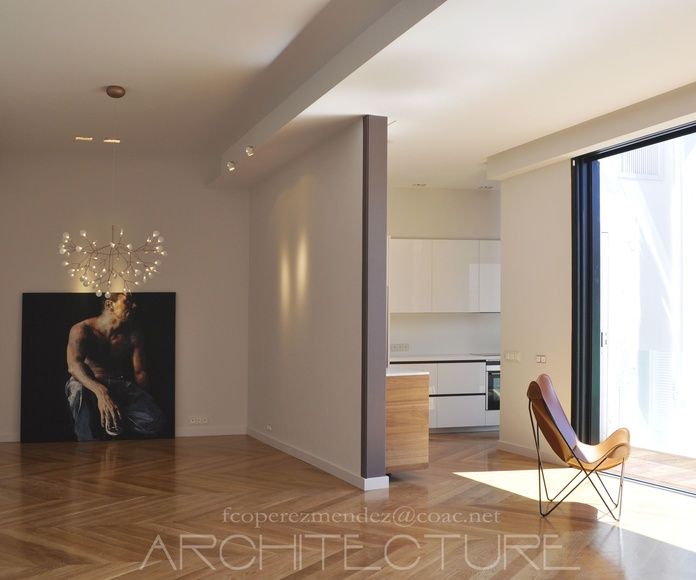Apartment Renovation. Architect Sitges.    www.architectsitges.com: Proyectos  architectsitges.com de FPM Arquitectura