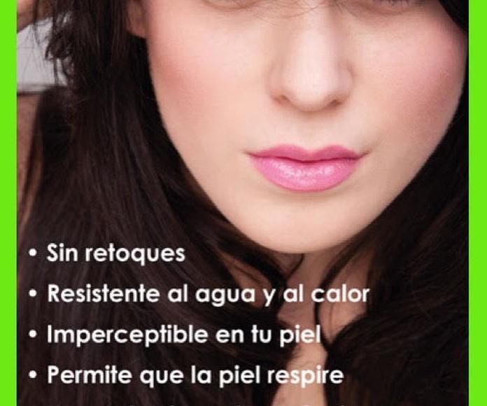 Maquillaje con aerógrafo: Servicios de Peluquería Marsun