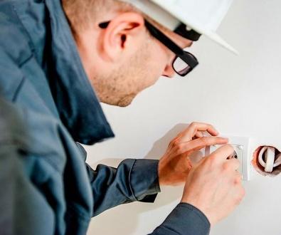 Electricistas en la Orotava