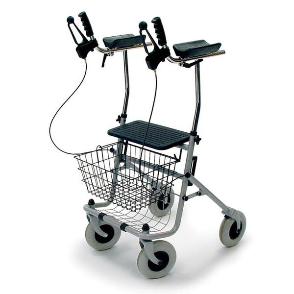 Rolator con soportes para brazos Artritis