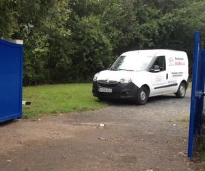 Puerta cancela batiente motorizada