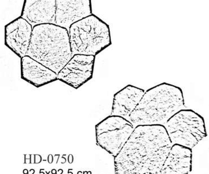 Las Varias Formas de Moldes de Piedra
