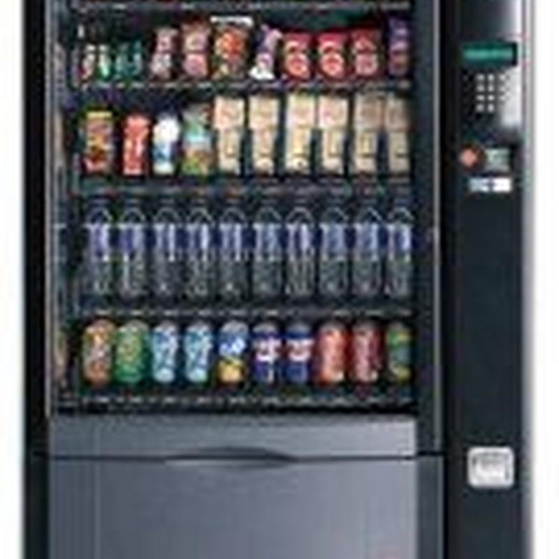 Expendedoras de snacks: Catálogo de Edai Vending
