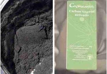 Carbón vegetal de bambú