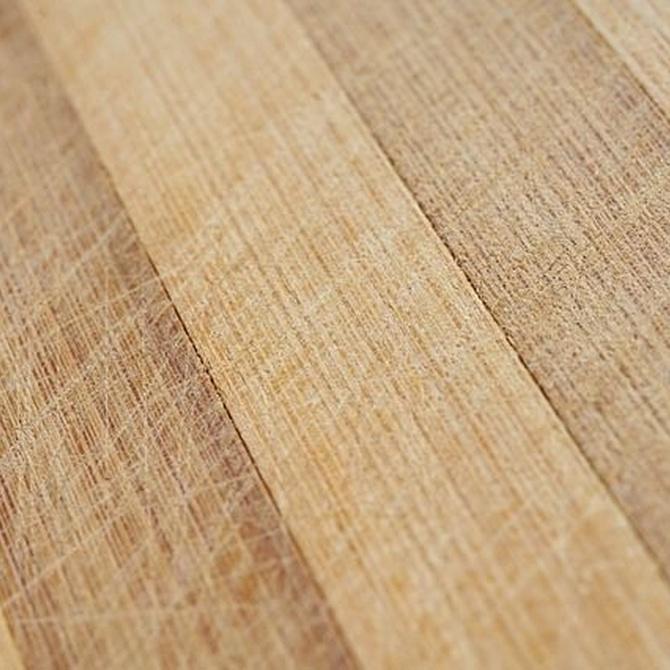 La limpieza de los suelos de madera