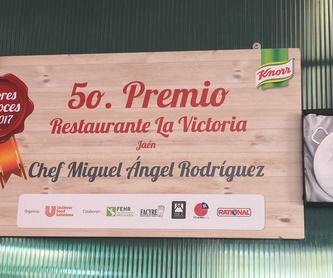 Arroz con calamares gambas y mejillones: Nuestros Arroces de Cafetería Restaurante La Victoria