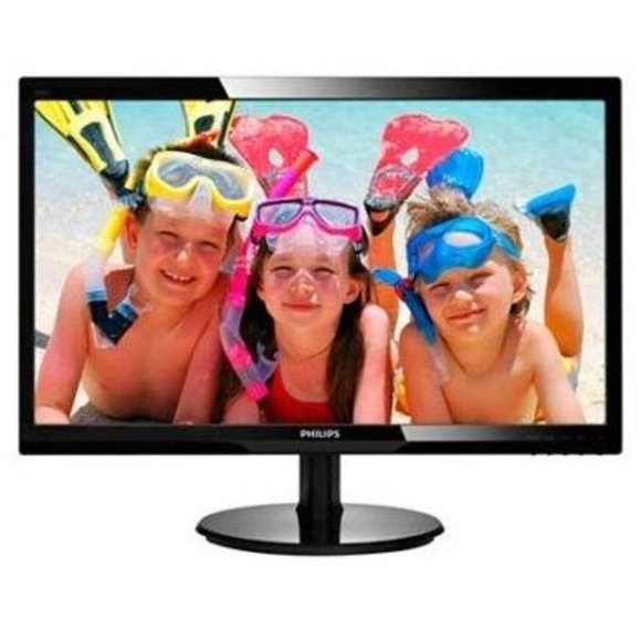 "Philips 246V5LHAB Monitor 24"" Led 16:9 5ms MM HDMI : Productos y Servicios de Stylepc"