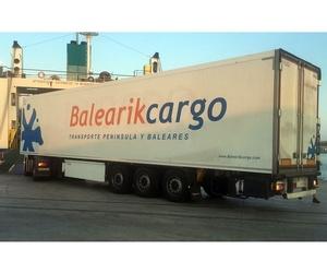 Transporte de productos a temperatura controlada en Baleares