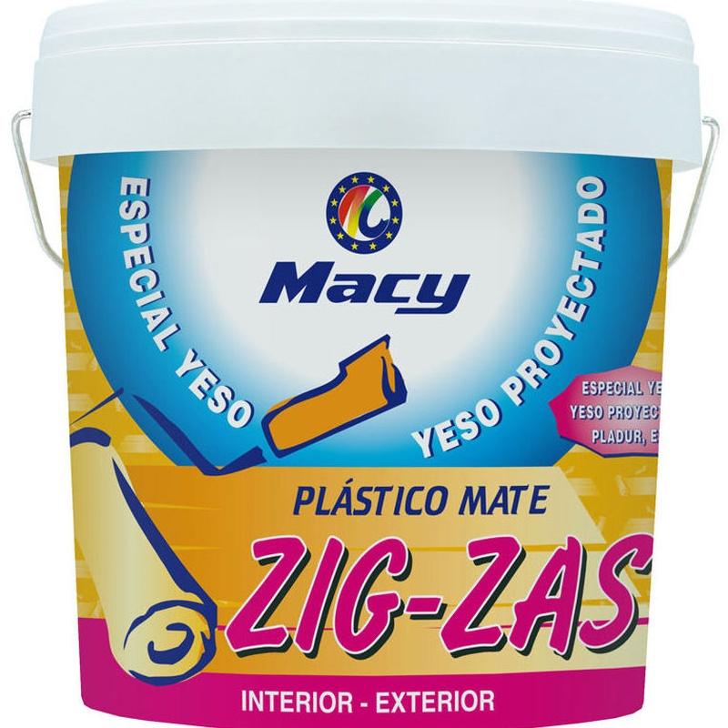 MATE ESPECIAL YESOS ZIG-ZAS en almacén de pinturas en ciudad lineal.