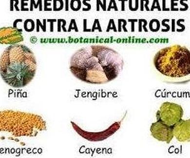 LA ARTROSIS -TRATAMIENTO NATURAL-