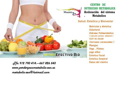 Aceleración del sistema metabólico Pinto
