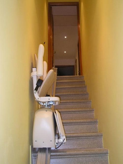 Escaleras rectas de inlcinación continua
