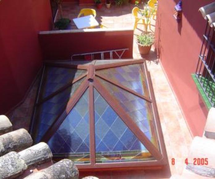 Claraboyas 4 aguas: Catálogo de Aluminios Aludecor Marbella