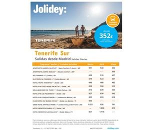 Jolidey: Tenerife  Sur