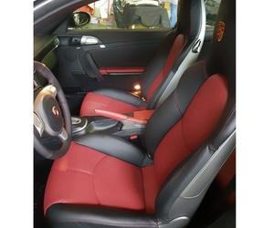 Tapizado de asientos del Porsche 911 carrera S