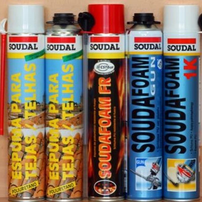 Espuma poliuretano: Productos de Ferretería Baudilio