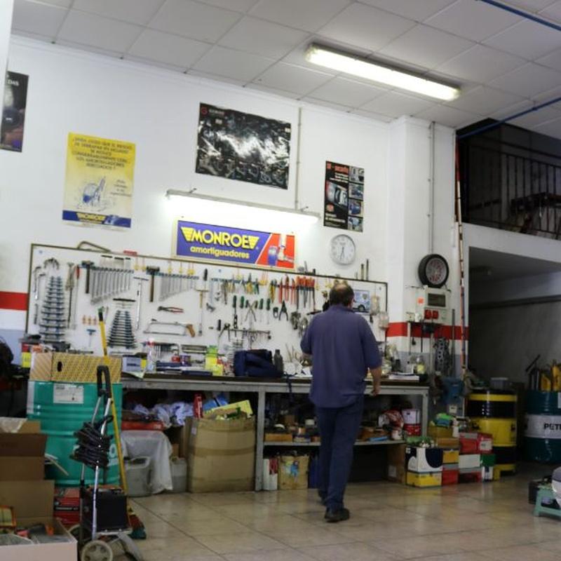 Mecánica en general: Servicios de Auto Electric M. García