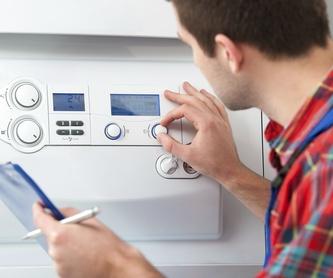 Venta de calderas, calentadores: Servicios de I.R.B.