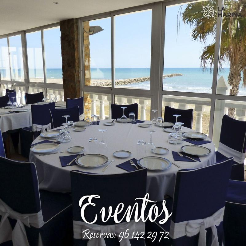 Restaurante en Valencia: Carta de Restaurante La Marina