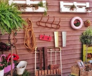 Muebles con maderas recicladas