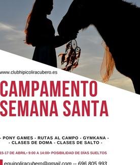 Campamento para Semana Santa