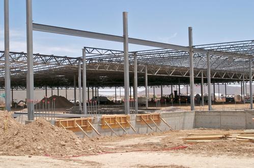 Expertos en estructuras metálicas de gran envergadura en Bizcaia