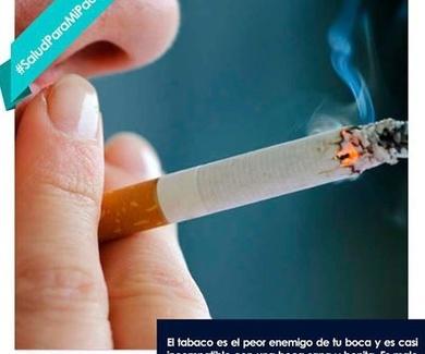Tabaco enemigo de la boca