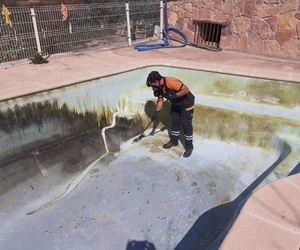 Limpieza de piscinas en Teruel