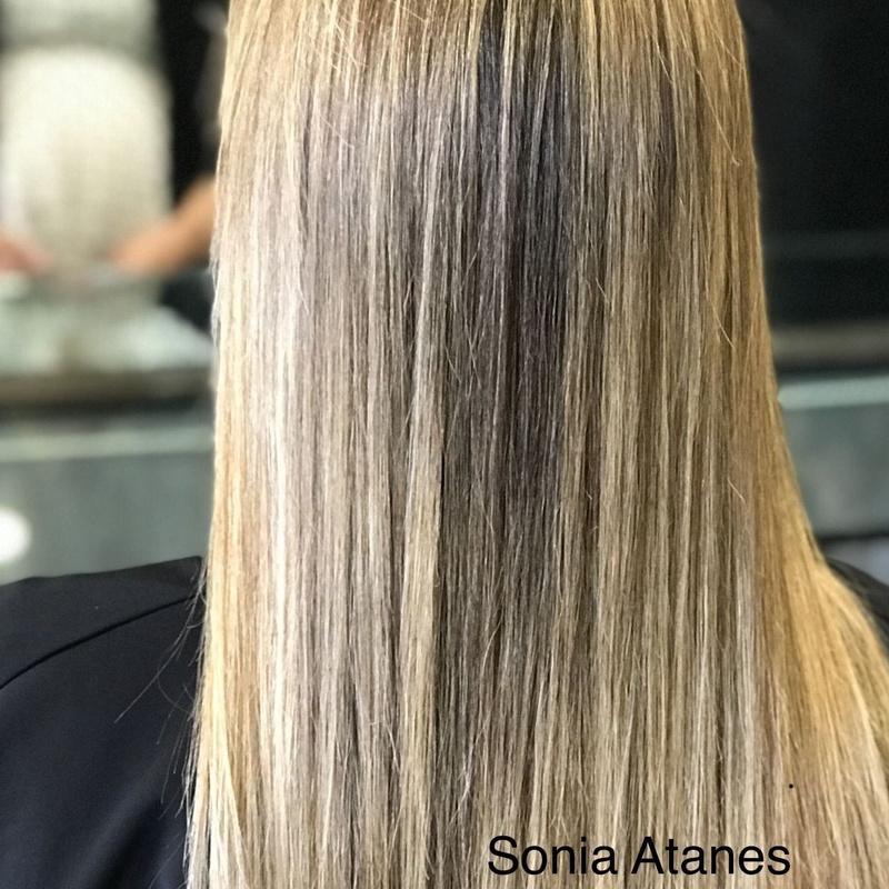 Mechas Babyligth: Servicios de peluquería de Sonia Atanes