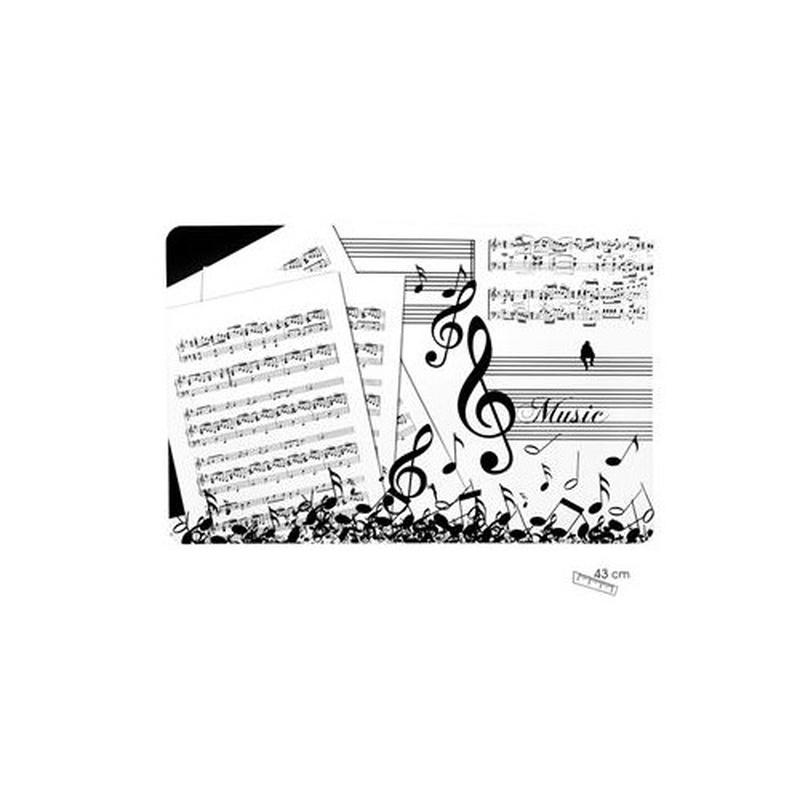 Mantel individual música: Productos y servicios de PENTAGRAMA