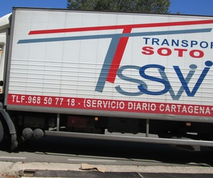 Camión diario Cartagena-Murcia