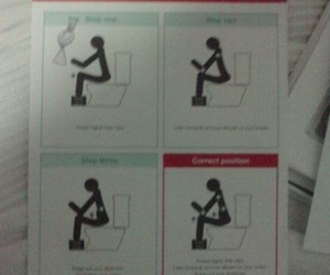 Postura adecuada para ir al baño