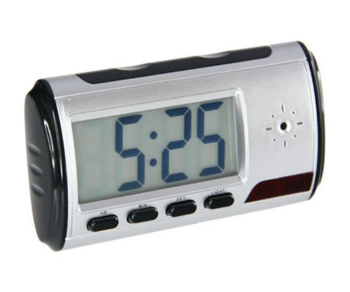 Grabador de audio y vídeo portátil camuflado dentro de un reloj despertador: Productos y Servicios de CCTV BURGOS