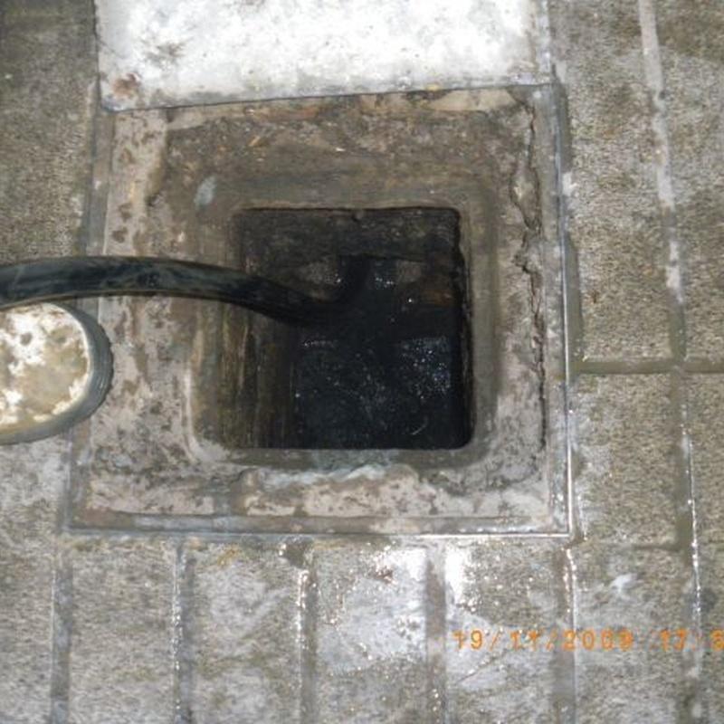 Limpieza de arquetas: Trabajos realizados  de Desatascos y Extracciones Merino