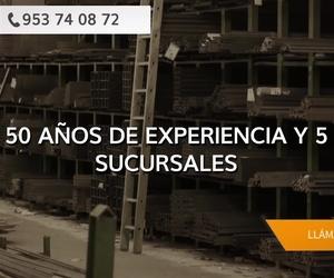 Venta de hierros en Jaén | Hierros Garrido