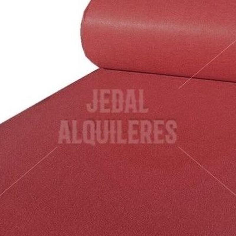 MOQUETA BURDEOS: Catálogo de Jedal Alquileres