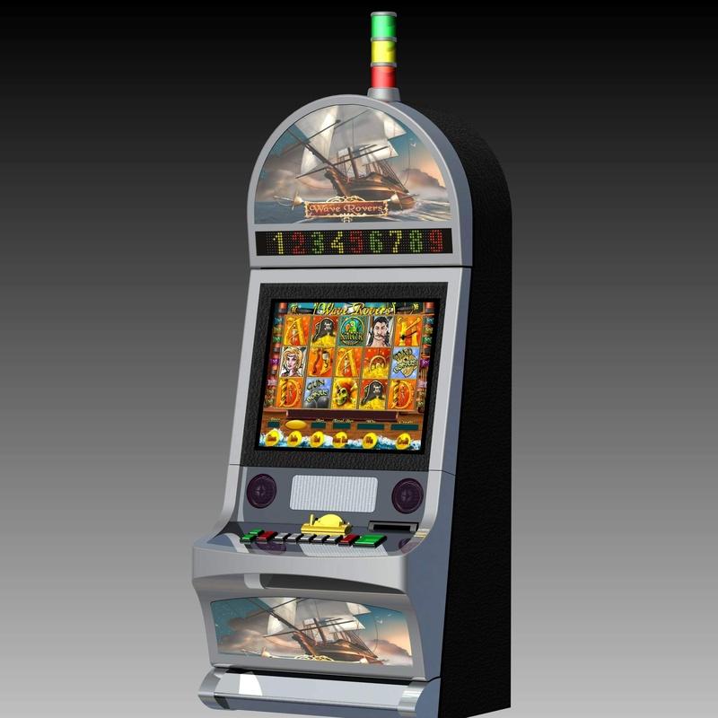 Máquina recreativa K7: Productos y servicios de 3DSWPRO