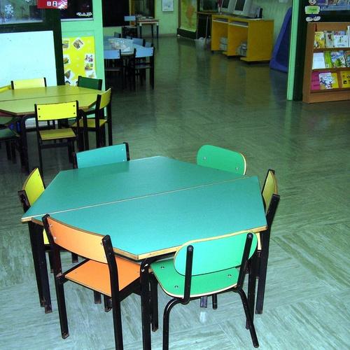Limpieza de colegios en Vizcaya