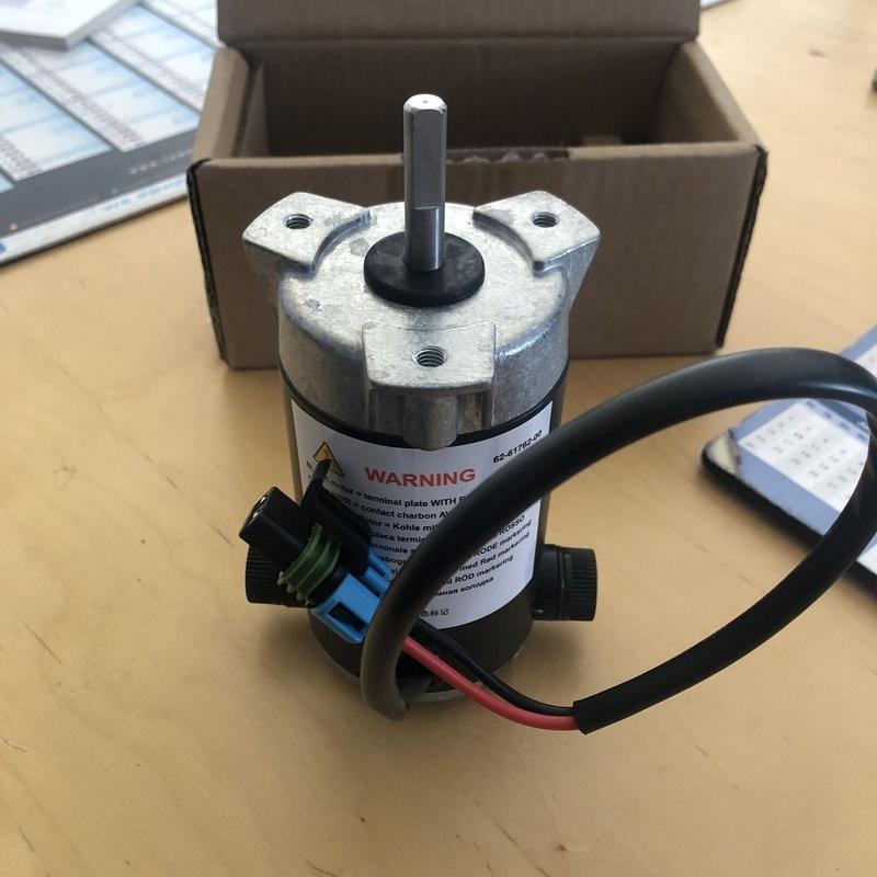 Motor eléctrico 12/14v