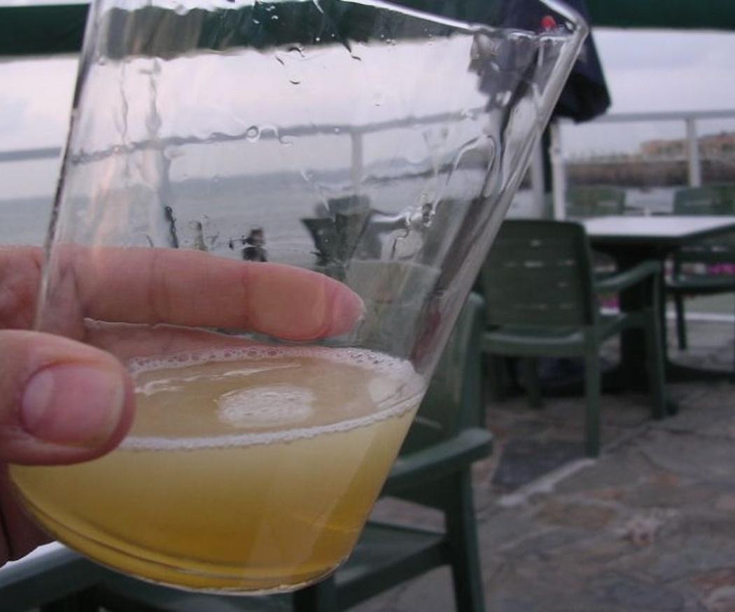 La fiesta de la sidra de Gijón