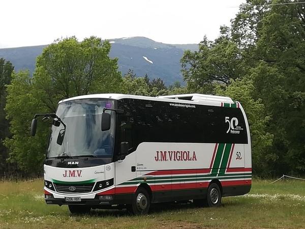 Bus 28 plazas: Servicios de J. M. Vigiola