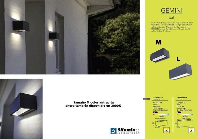 """Modelo """" GEMINI """": Productos de Centro Led Almería"""