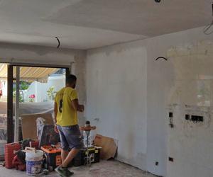 Paredes y techos reformados