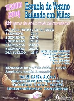 ESCUELA DE VERANO - BAILANDO CON NIÑOS