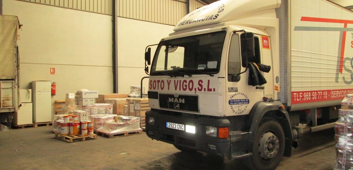 Envío de mercancía en Cartagena