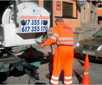 Reparacion de calderas: Servicios de Irsa - Desatrancos La Adrada